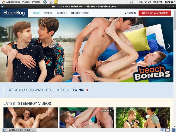 8 Teen Boy Account Information