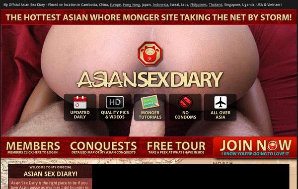 Asiansexdiary Web Site