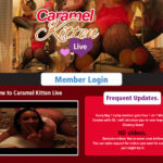 Caramel Kitten Live Men