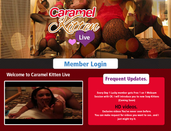 Caramel Kitten Live User Name