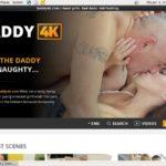 Daddy 4k Sign