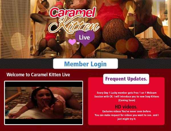 Trial Caramel Kitten Live Membership