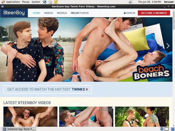 8teenboy.com Paypal Access