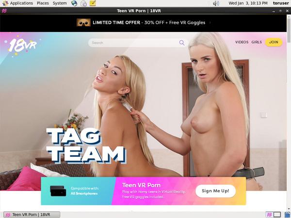 18vr.com Home Page