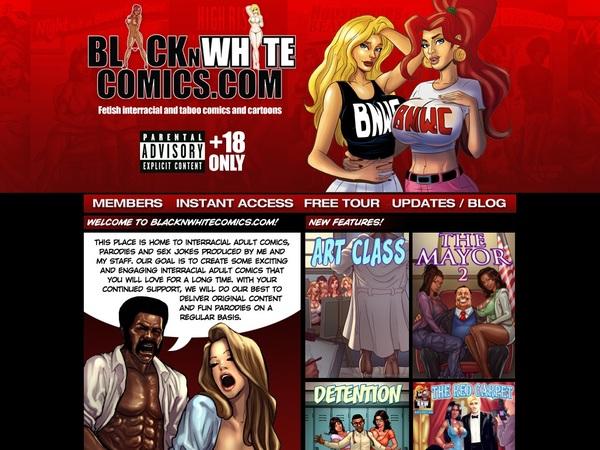 Black N White Comics Pass Free