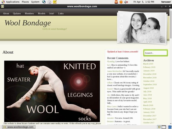 Limited Wool Bondage Deal