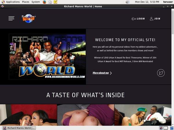 Richardmannsworldlive.com Site Rip