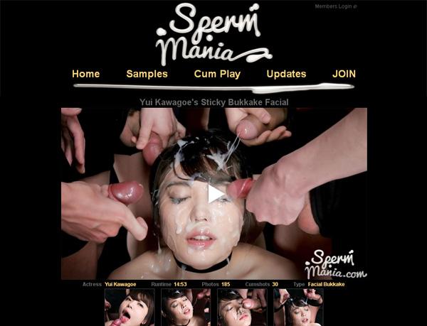 Spermmania.com 가입하기