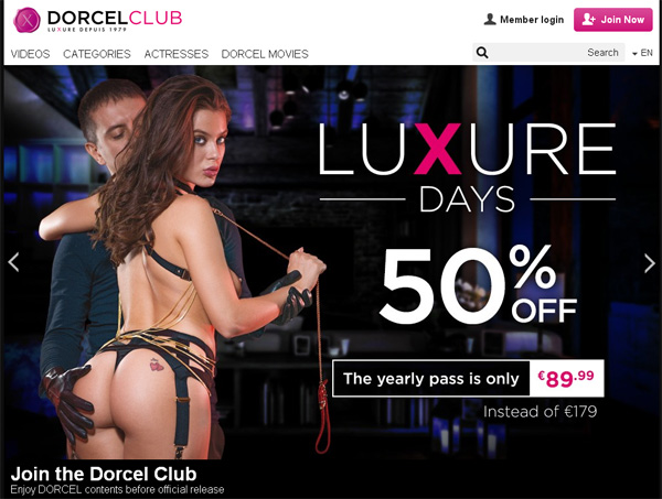 Free Dorcel Club User