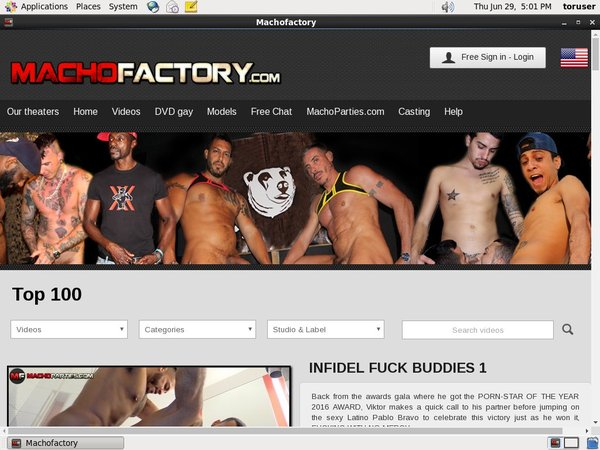 Macho Factory Yearly Membership