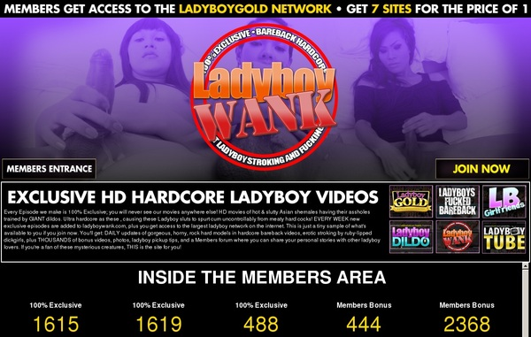Ladyboywank.com Trial Access