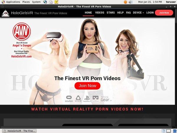 Holo Girls VR Premium Free Account